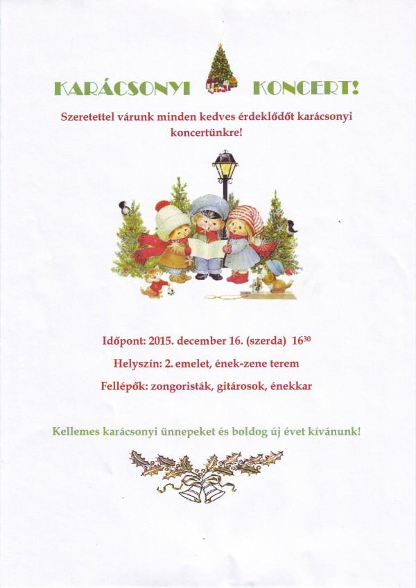 Karacsonyi koncert